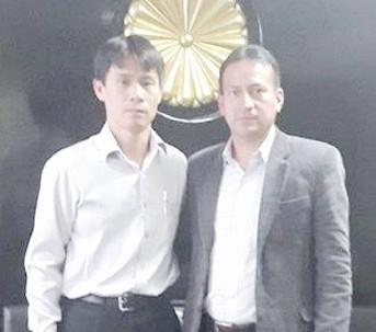 El alcalde, Guillermo Zhinín, se reunió en Quito con los funcionarios asiáticos.