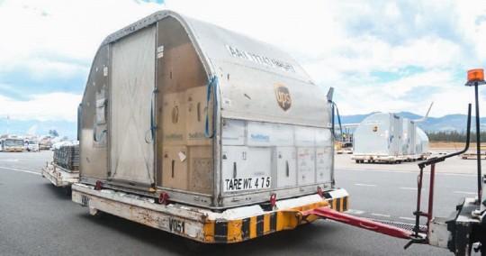 Ecuador recibe 255.060 vacunas de Pfizer y acumula 15,4 millones de dosis / Foto: EFE