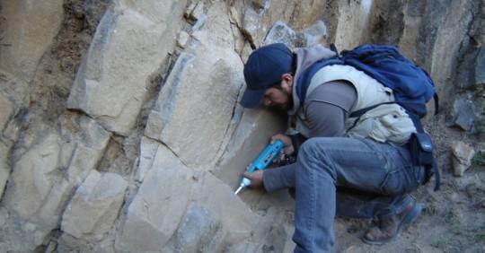 Estudios de geología en la sierra y la costa ecuatoriana/ Foto: IIGE