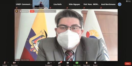 Ecuador impulsa una convención internacional contra la basura plástica marina / Foto: Cotesía del Ministerio de Ambiente