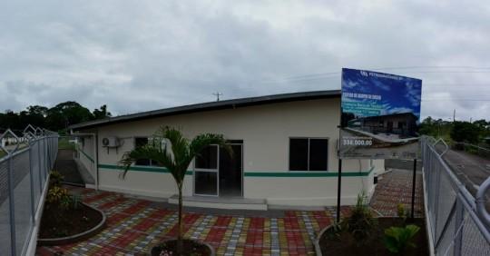 Petroamazonas entregó un centro de acopio de cacao a la comunidad kichwa Boca Tiputini  / Cortesía de Petroamazonas
