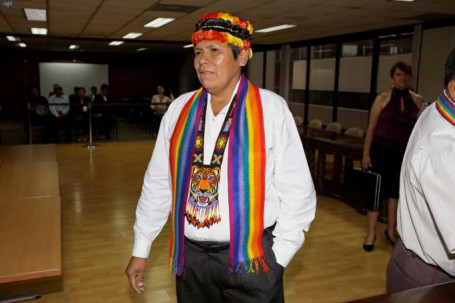 Libre. Pepe Acacho, exasambleista, recuperó la libertad. El presidente Lenín Moreno firmó el decreto 530 para su indulto. Foto: La Hora