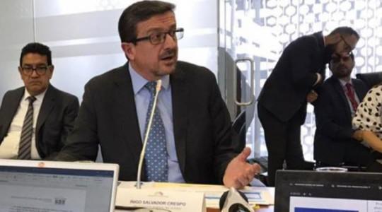 El procurador general del Estado, Íñigo Salvador, dijo que Ecuador ha sustentado su petición de anular el laudo que ordena indemnizar a Perenco, al considerar que el tribunal arbitral se ha extralimitado en sus facultades. Foto: El Comercio