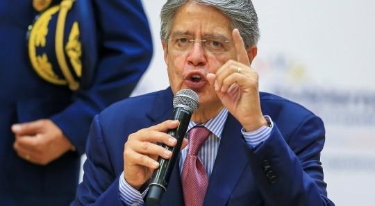 Guillermo Lasso pide democracia para personas que sufren en Cuba / Foto: EFE