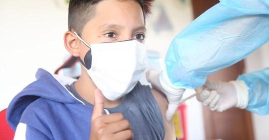 200 mil adolescentes fueron vacunados en una semana / Foto: cortesía Ministerio de Salud