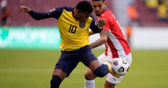 Ecuador sumó su cuarta victoria en las Eliminatorias a Qatar 2022 / Foto: EFE