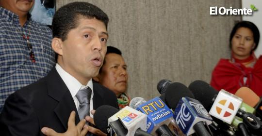 Pablo Romero, exjefe de la Senain, autorizó pagos a Pablo Fajardo
