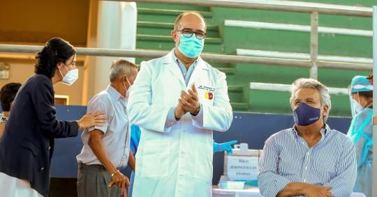 Renuncia el cuarto ministro de Salud, tercero desde la pandemia / Foto: EFE