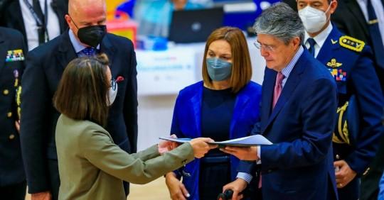 Ecuador recibe lote de Pfizer y acumula 5.126.279 vacunas contra covid-19/ Foto: EFE