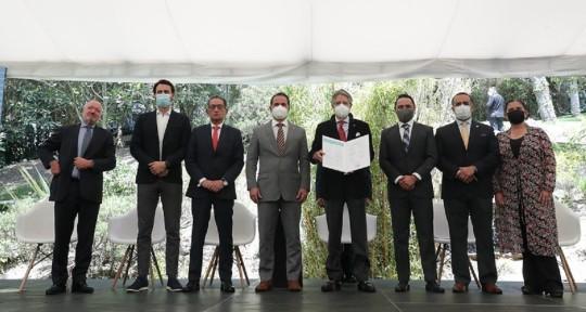 Lasso anunció lanzamiento del Plan de Transición hacia la Descarbonización / Foto: cortesía Ministerio de Ambiente