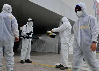 Emergencia. Compras de equipo de bioseguridad, desinfección y alimentos son ahora comunes entre las instituciones públicas.