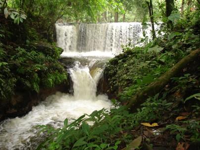 Cascada de las Conchas, en el cantón La Joya de los Sachas. Foto: La Hora