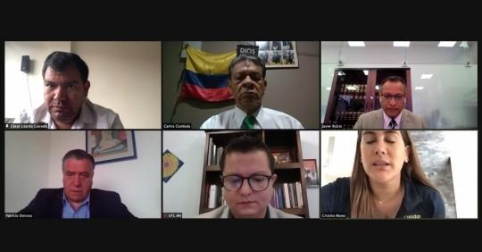 El CAL da paso a proyecto de Ley de la dolarización / Foto: Cortesía del Twitter de la Asamblea Nacional de Ecuador