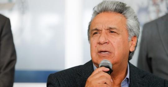 Lenín Moreno prevé un acuerdo comercial con EE.UU. por fases / Foto: EFE