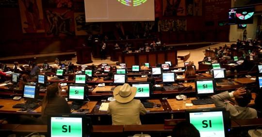 La Asamblea Nacional aprueba la Ley de Extinción de Dominio / Foto: EFE