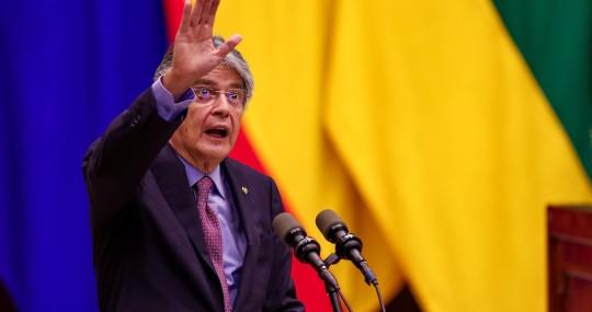 "Lasso pide a la Asamblea de Ecuador ""luchar juntos"" contra crisis económica / Foto: EFE"