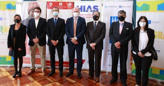 """UE financia proyecto """"Integra"""" en beneficio de los migrantes en Ecuador / foto cortesía Cancillería"""
