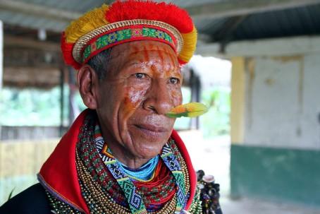 Comunidad cofán tiene audiencia hoy - Foto: Wikipedia