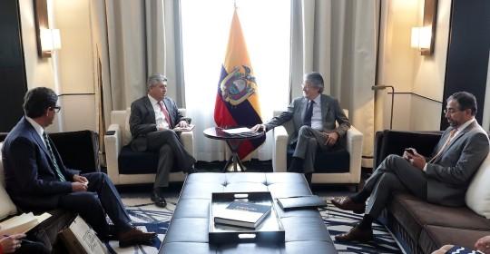 Lasso termina gira en México con metas comerciales cumplidas / Foto: cortesía Secretaría General de Comunicación