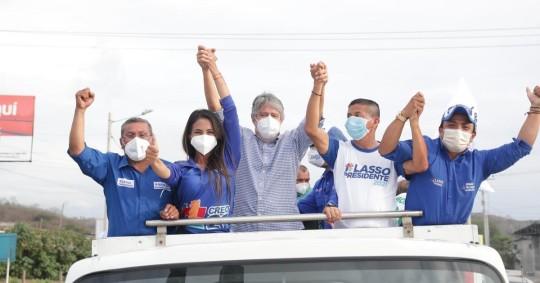 Guillermo Lasso pide el voto para que Ecuador no se convierta en Venezuela / Foto: Guillermo Lasso (Twitter)