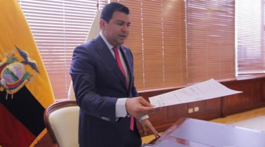 El presidente de la Asamblea Nacional, Cesar Litardo. Foto: Patricio Terán / El Comercio