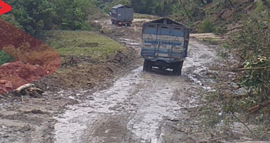 La vía Lumbaquí- La Bonita, en la provincia de Sucumbíos, está habilitada / Foto: cortesía Ministerio de Obras Públicas