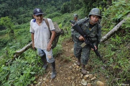 OPERATIVOS. El patrulLaje en la frontera norte sigue sin descanso. (AFP)
