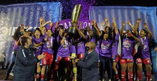 El Nacional se coronó campeón de la Superliga Femenina 2020 / Foto: Superliga Femenina Directv
