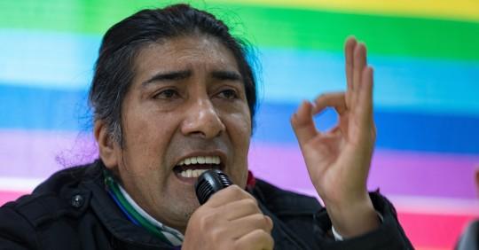 Pachakutik decide promover el voto nulo en el balotaje entre Arauz y Lasso / Foto: EFE