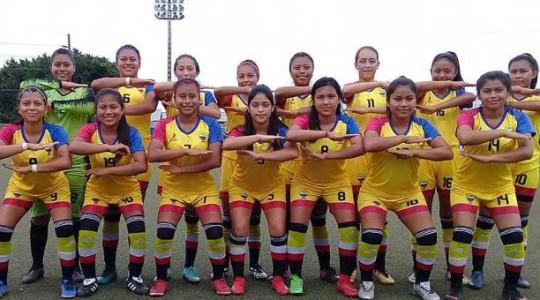 El equipo que disputó los X Juegos Deportivos Nacionales Prejuveniles realizados en Guayaquil. Foto: El Comercio