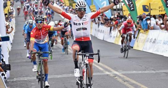Byron Guamá gana la segunda etapa de la Vuelta / Foto: EFE