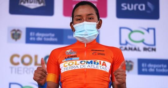Miryam Núñez conquistó la Vuelta a Colombia / Foto: EFE