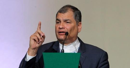 Corte Nacional ordena la captura de Rafael Correa, Alexis Mera y otros / Foto: EFE