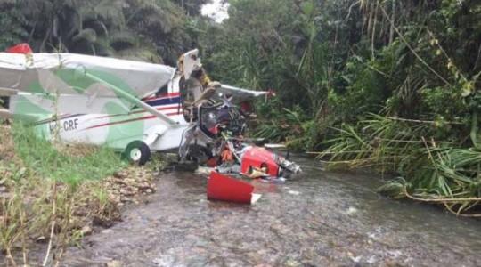 El accidente ocurrió cerca de las 11:00 de este miércoles 29 de marzo del 2017. Foto: Tomada del Twitter @EcoAmazonico
