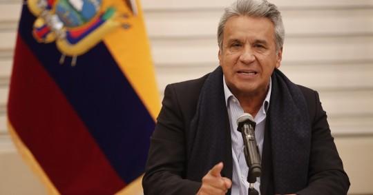 Mejía es un empresario de 73 años nacido en Quito, amigo desde la juventud del presidente Moreno. / Foto: EFE