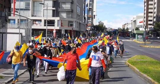 Yaku Pérez pide medidas cautelares a la Corte Constitucional y recuento en todo el país/ Foto EFE
