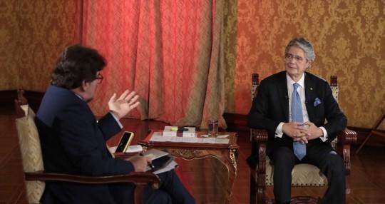 Lasso acusó a Correa, Nebot e Iza de conspirar contra la democracia / Foto: cortesía Presidencia