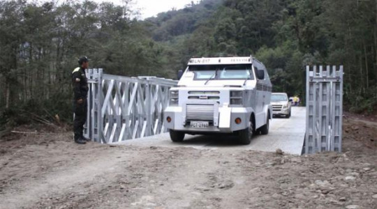 El puente tiene capacidad para soportar 48 toneladas de peso. Foto: El Comercio