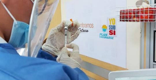 Covid-19: Ecuador forma Comité de Transparencia de plan de vacunación / Foto: Presidencia