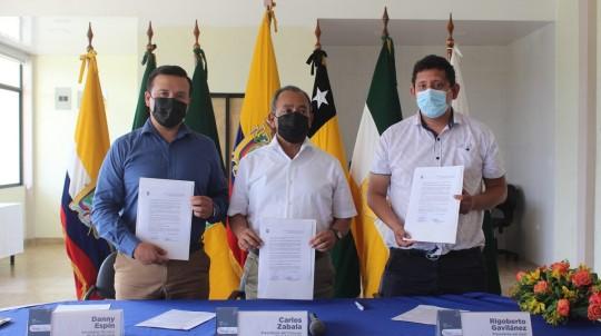 Puerto Napo tendrá agua potable / Foto: cortesía Secretaría Técnica Amazónica