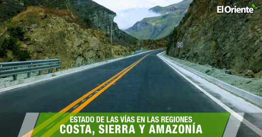 El Ministerio de Transporte y Obras Públicas ha publicado el informe de las carreteras en Ecuador el día 21 de junio de 2021.