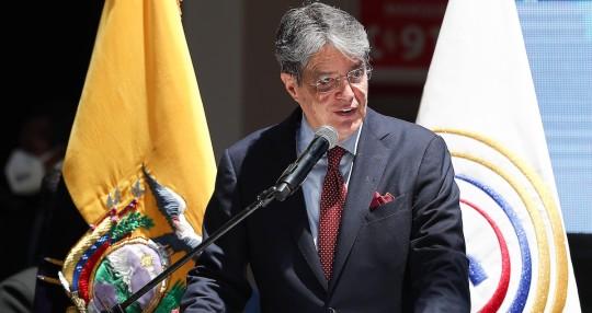 Guillermo Lasso retornará mañana al país tras operación en EE.UU. / Foto EFE