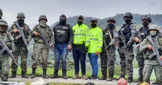 Operativos en la frontera norte encienden alertas / Cortesía del Ejército Ecuatoriano