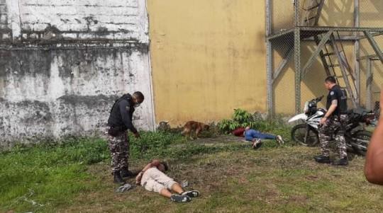 Suceso. Un ecuatoriano y un venezolano intentaron huir de la cárcel de Santo Domingo de los Tsáchilas.