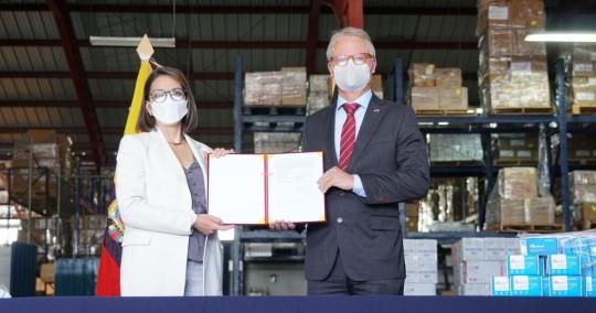 El objetivo es fortalecer la capacidad del sistema de salud pública y atender afecciones respiratorias causadas por el covid-19. / Foto: EFE