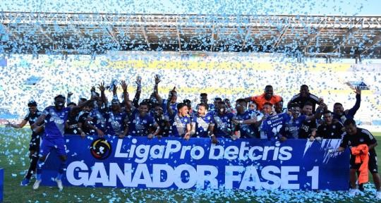 Emelec ganó la primera etapa tras golear 4-0 al Manta / Foto: cortesía Liga Pro