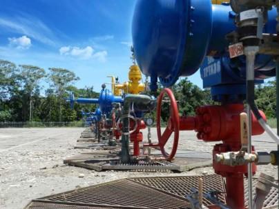 OPERATIVIDAD. Están en producción cuatro taladros: dos en Tambococha y dos en Tiputini. Foto: La Hora