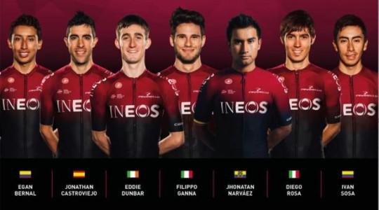 El ecuatoriano Jhonatan Narváez competirá por el Ineos en el Giro de la Toscana. Foto: La Hora