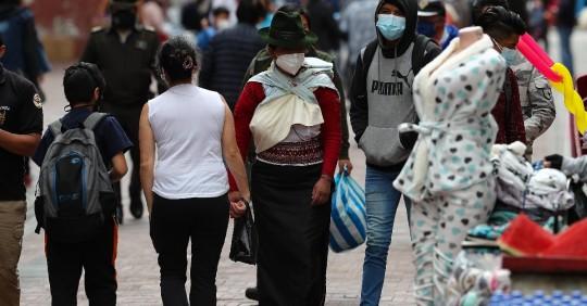 Ecuador acumuló 388.046 casos de Covid-19  / Foto: EFE