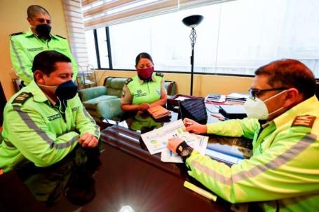 MISIÓN. La Policía Nacional es la institución que no solo investiga desapariciones, sino otras denuncias. / La Hora